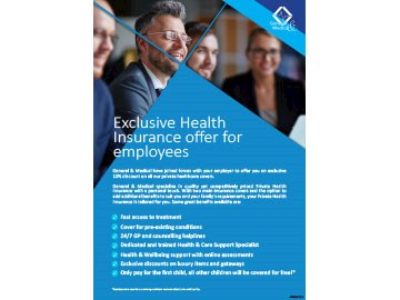 Employee Health Insurance Discount Offer