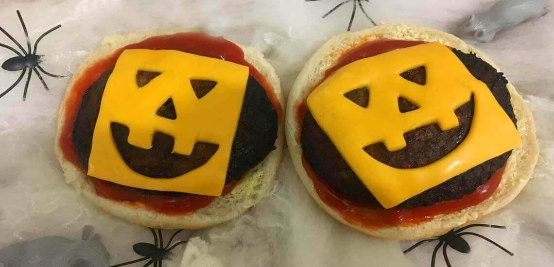 Spook-tacular Halloween Burgers