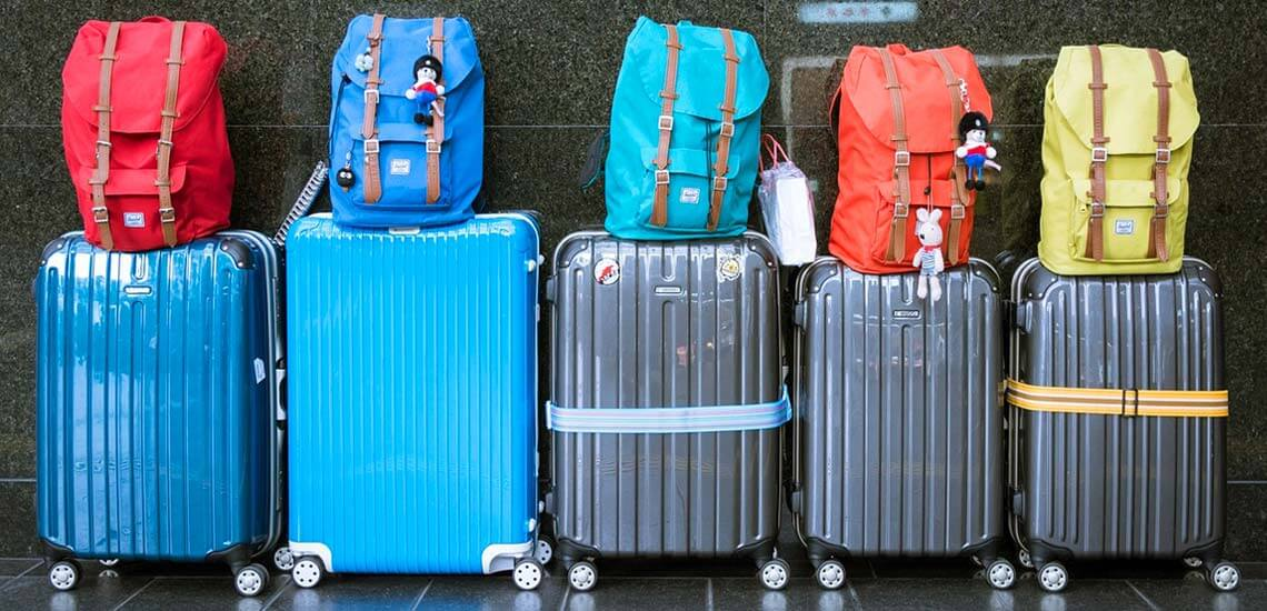 Holiday Packing Suitcases