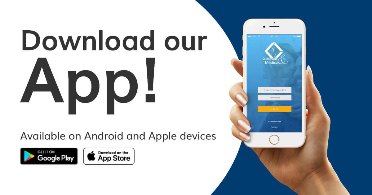 Download the General & Medical Healthcare App